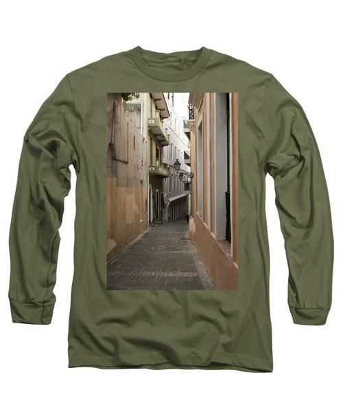 Old San Juan Street Long Sleeve T-Shirt