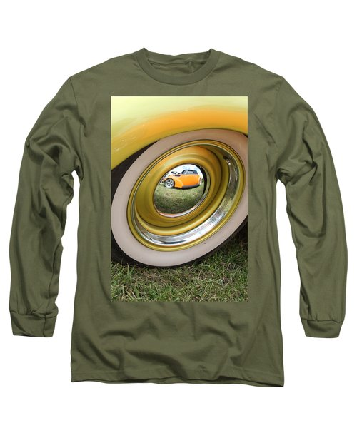 Old School Reflection Take 2 Long Sleeve T-Shirt