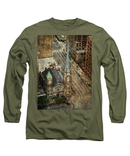 Old Stone Church Long Sleeve T-Shirt