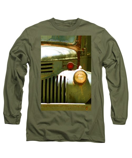 Old Truck Abstract Long Sleeve T-Shirt