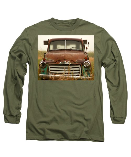 Old Truck Long Sleeve T-Shirt by Steven Reed