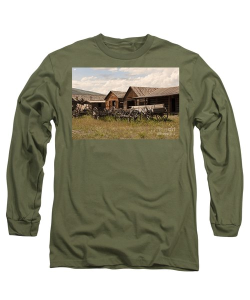 Old West Wyoming  Long Sleeve T-Shirt