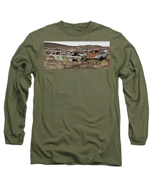 Old Wrecks Long Sleeve T-Shirt