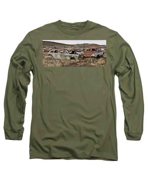 Old Wrecks Long Sleeve T-Shirt