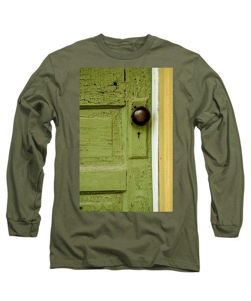 Olive Door Long Sleeve T-Shirt