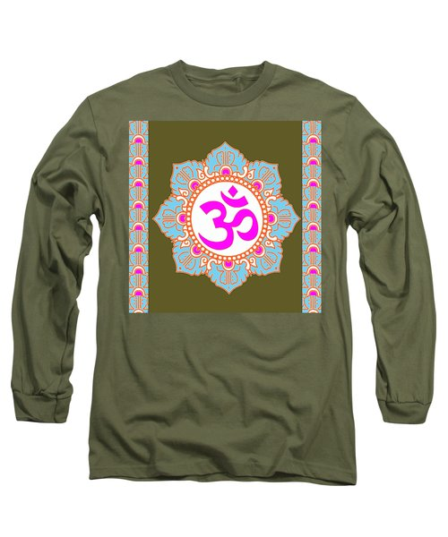 Long Sleeve T-Shirt featuring the photograph Om Mantra Ommantra 3 by Navin Joshi