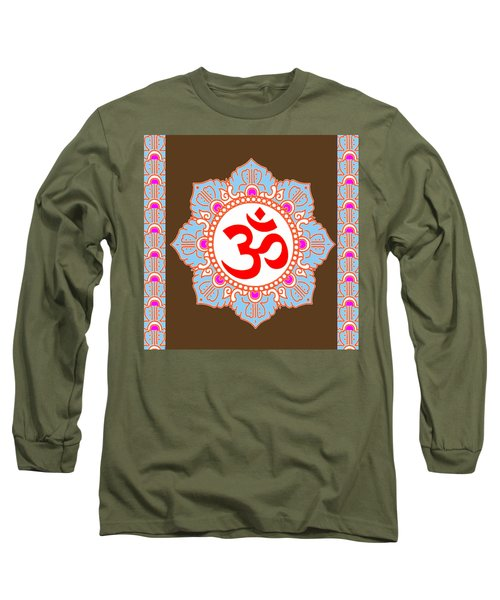 Long Sleeve T-Shirt featuring the photograph Om Mantra Ommantra by Navin Joshi