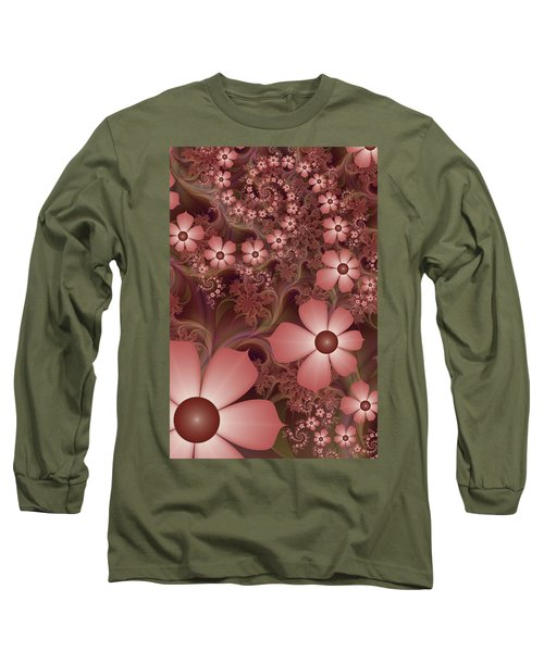 Long Sleeve T-Shirt featuring the digital art On A Summer Evening by Gabiw Art