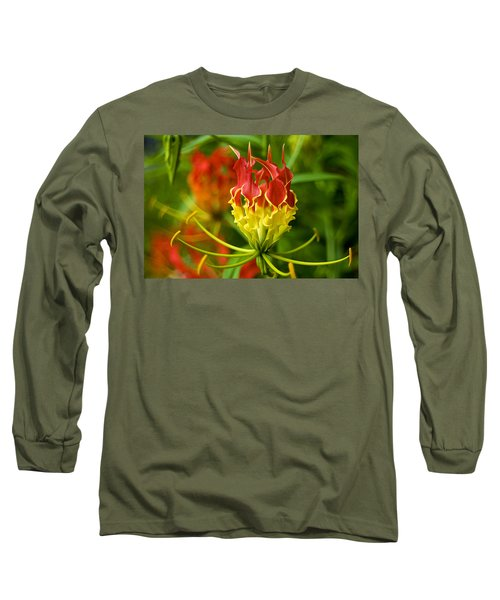 On The Porch At Hawkins House Long Sleeve T-Shirt