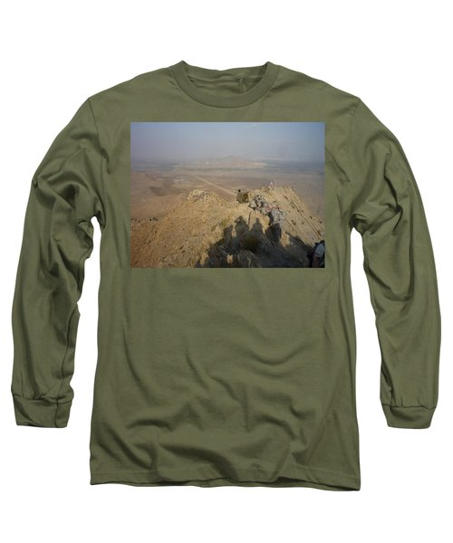 On Top Of A Mountain Long Sleeve T-Shirt