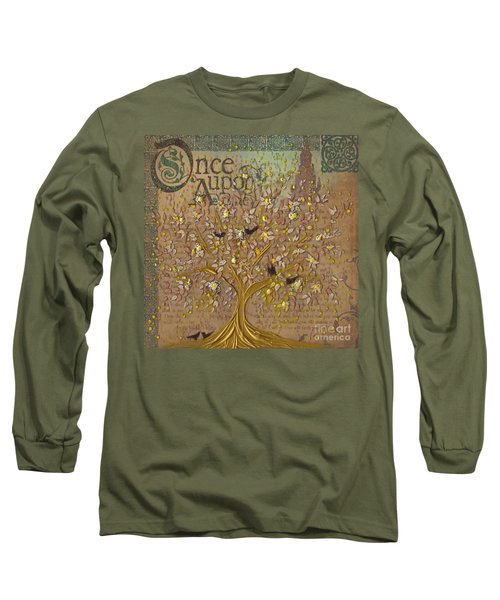 Once Upon A Golden Garden By Jrr Long Sleeve T-Shirt