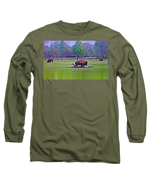 One Bison Family Long Sleeve T-Shirt