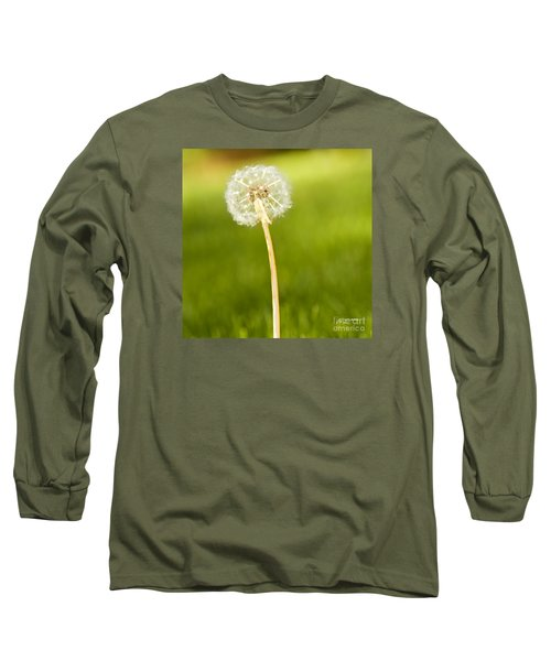 Long Sleeve T-Shirt featuring the digital art One Wish  by Artist and Photographer Laura Wrede