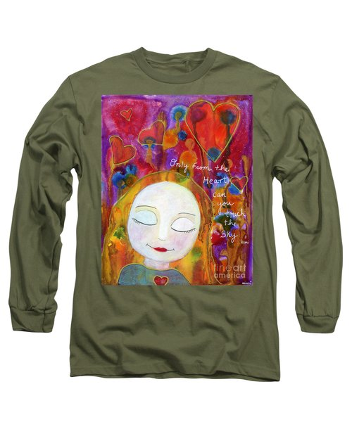 Only From The Heart Long Sleeve T-Shirt