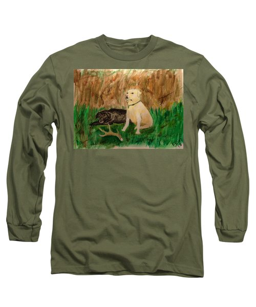 Onyx And Sarge Long Sleeve T-Shirt