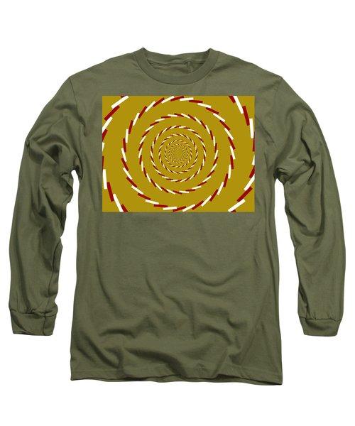 Optical Illusion Whirlpool Long Sleeve T-Shirt
