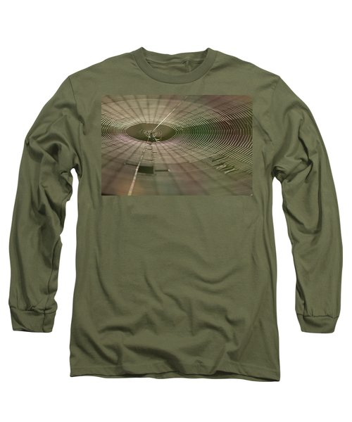 Long Sleeve T-Shirt featuring the photograph Orchard Orbweaver #1 by Paul Rebmann