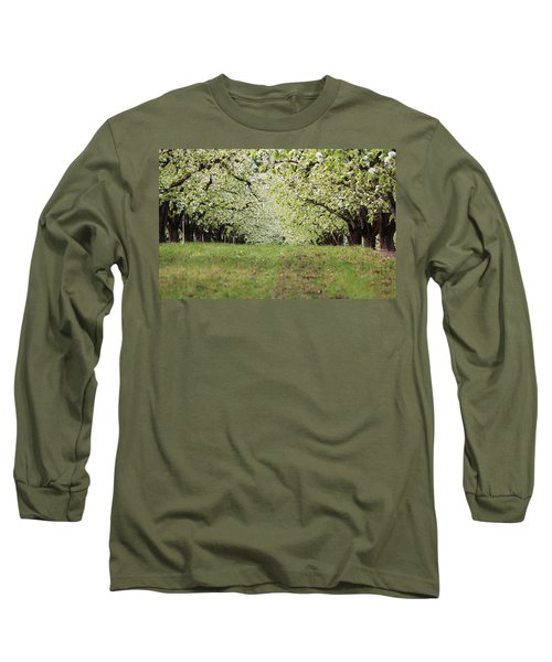 Long Sleeve T-Shirt featuring the photograph Orchard by Patricia Babbitt