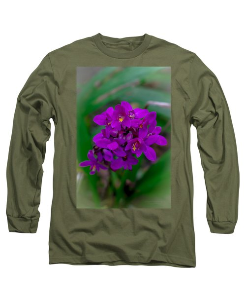 Orchid In Motion Long Sleeve T-Shirt