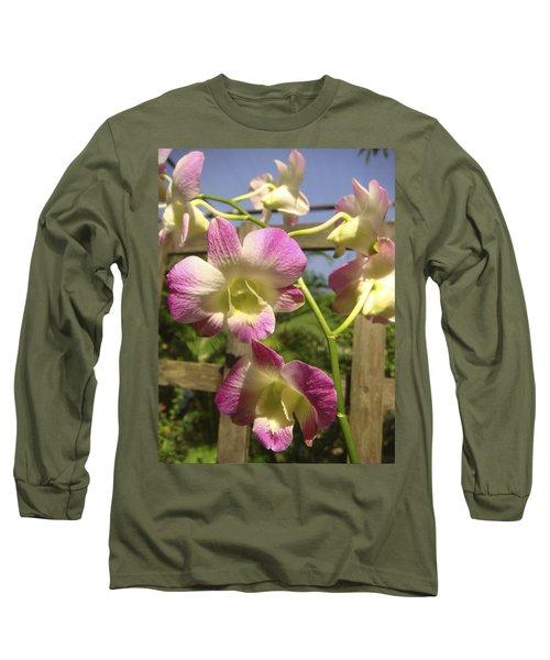 Orchid Splendor Long Sleeve T-Shirt