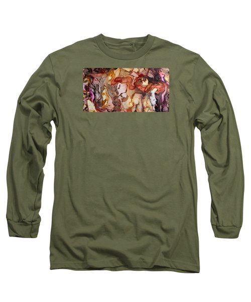 Organic 14 Long Sleeve T-Shirt by Angel Ortiz