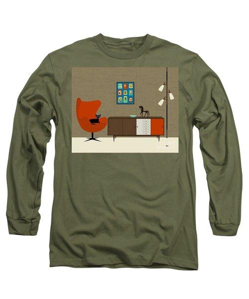 Orla Kiely Cabinet Long Sleeve T-Shirt