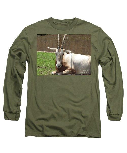 Oryx Long Sleeve T-Shirt by DejaVu Designs