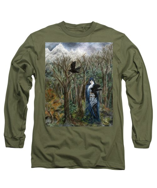 The Raven God Long Sleeve T-Shirt