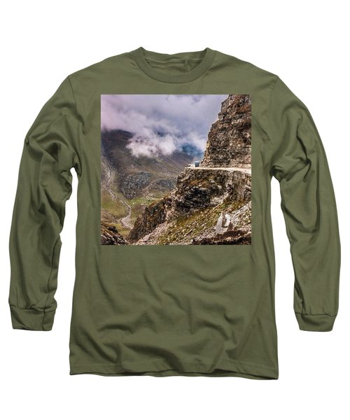 Our Bus Journey Through The Himalayas Long Sleeve T-Shirt