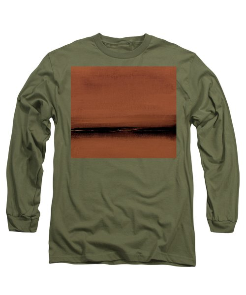 Our Oceans  The Continental Dividers  Number 1133-1 Long Sleeve T-Shirt