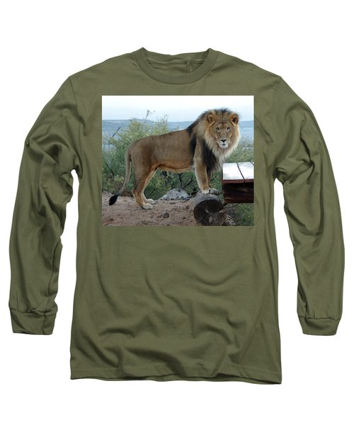 Out Of Africa  Lion 1 Long Sleeve T-Shirt