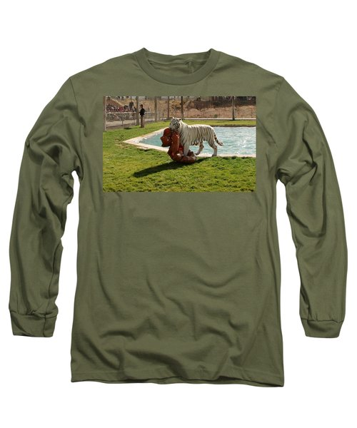 Out Of Africa Tiger Splash 2 Long Sleeve T-Shirt