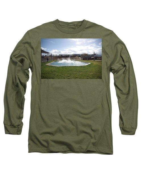 Out Of Africa Tiger Splash 9 Long Sleeve T-Shirt