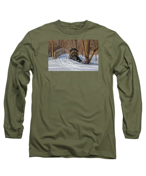 Over The River And Through The Woods Long Sleeve T-Shirt by Susan  McMenamin