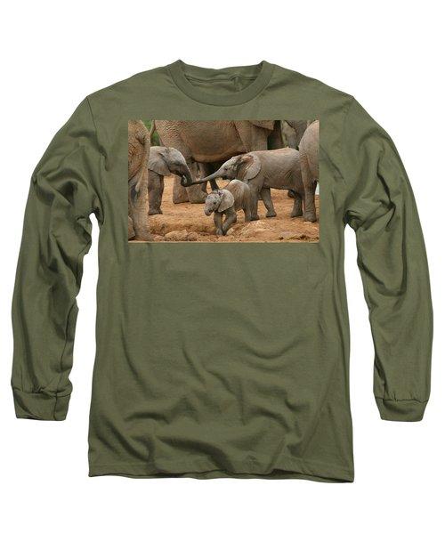 Pachyderm Pals Long Sleeve T-Shirt