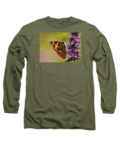 Painted Lady Long Sleeve T-Shirt
