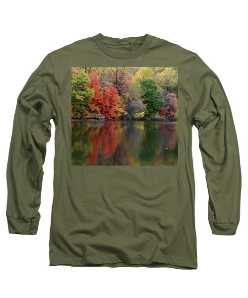 Long Sleeve T-Shirt featuring the photograph Painted Water by Richard Bryce and Family