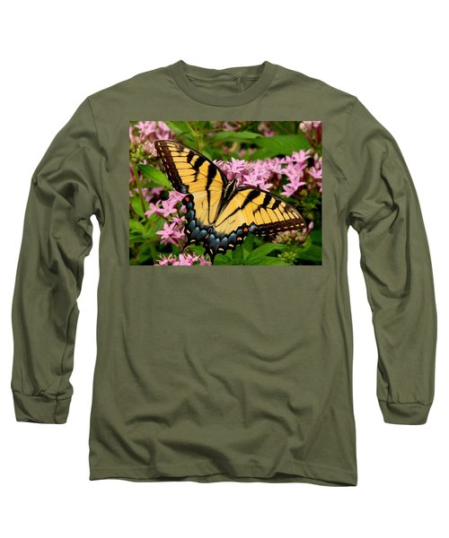 Painted Wings Long Sleeve T-Shirt