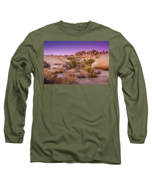 Painterly Desert Long Sleeve T-Shirt