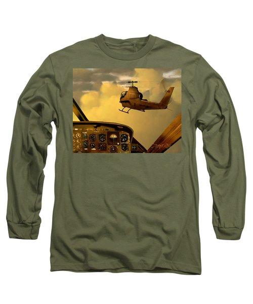 Palette Of The Aviator Long Sleeve T-Shirt