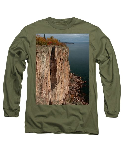 Long Sleeve T-Shirt featuring the photograph Palisade Depths by James Peterson