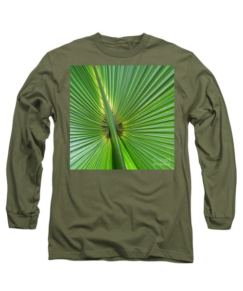 Long Sleeve T-Shirt featuring the photograph Palm Love by Roselynne Broussard