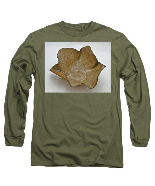 Paper-thin Bowl  09-010 Long Sleeve T-Shirt by Mario Perron
