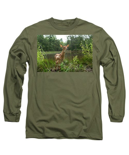 Paradise Found Long Sleeve T-Shirt by Bill Stephens