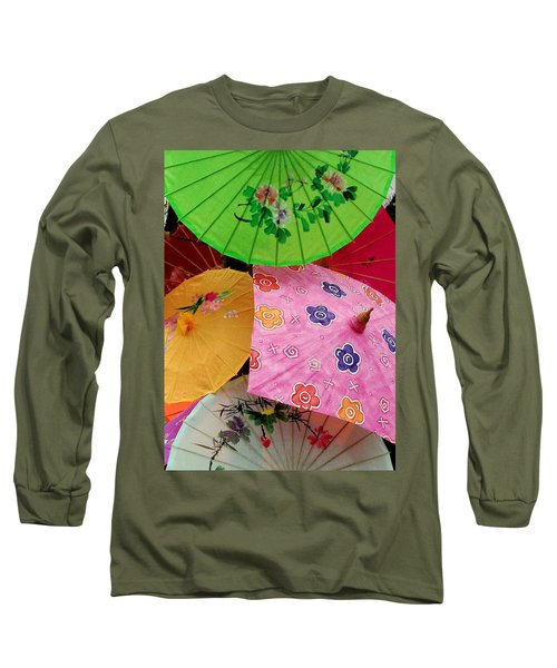 Parasols 2 Long Sleeve T-Shirt