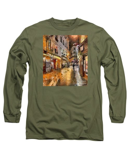 Paris St. Germain Long Sleeve T-Shirt by Dragica  Micki Fortuna