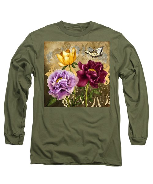 Parisian Peonies Long Sleeve T-Shirt