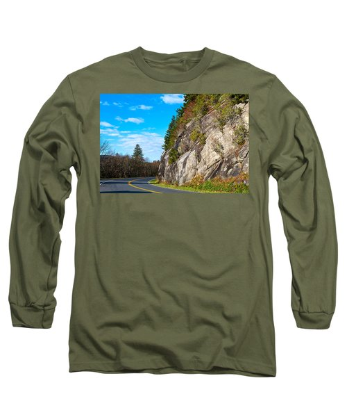 Park Road Long Sleeve T-Shirt by Melinda Fawver