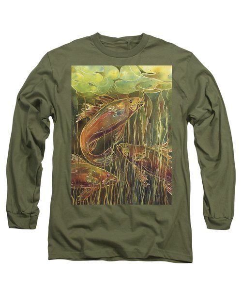 Party Under The Lily Pads II Long Sleeve T-Shirt