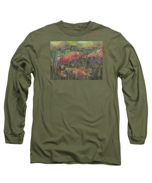 Party Under The Lily Pads Long Sleeve T-Shirt